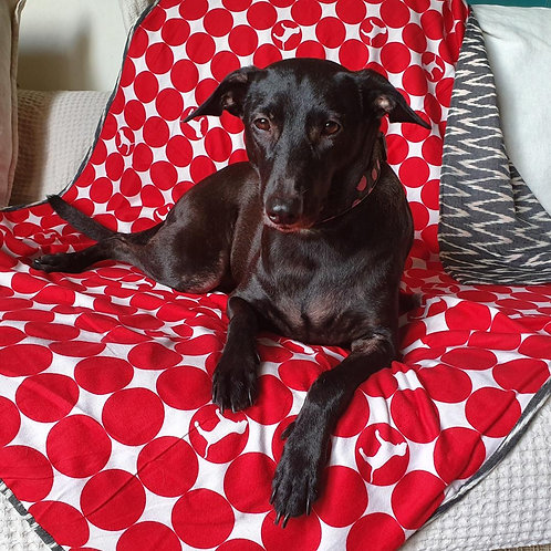 Loyal.D Pet Blankie - The Red Dot