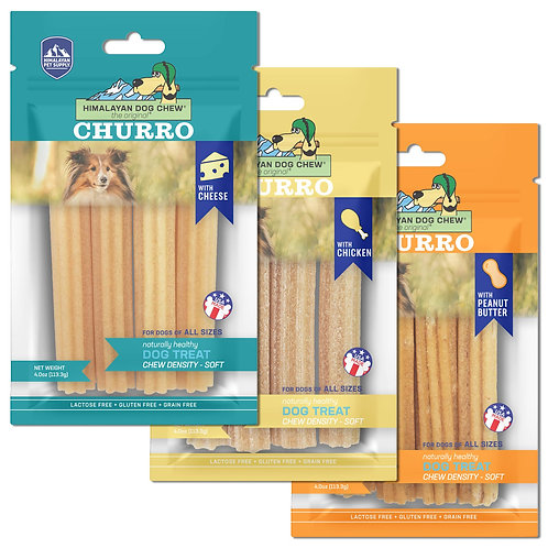 CHURRO CHEESE DOG CHEW
