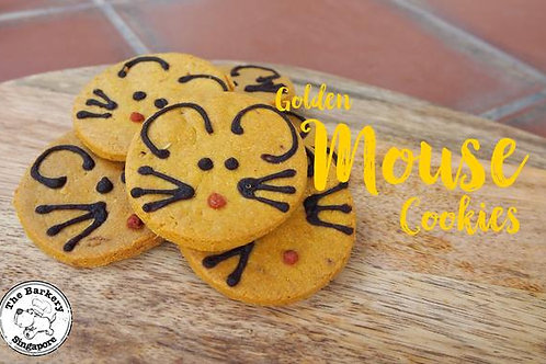 CNY - Golden Mice Cookies