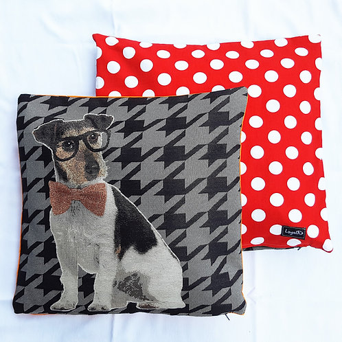 Cushion Cover - Wise Terrier