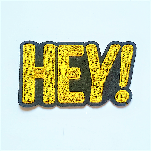 Iron On Badges - Words
