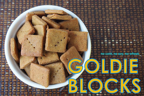 THE BARKERY - Goldie Blocks