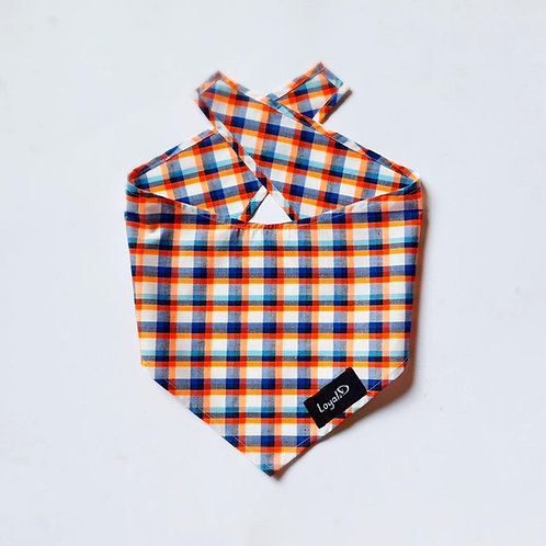 Loyal.D Bandana - Orange Fluro Plai.D