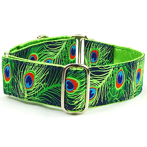 """Paradise Found-Satin Lined Buckle Collar 1"""" & 1.5"""""""