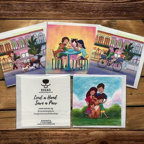 Singapore Greeting Cards
