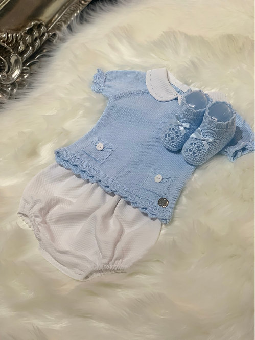 GABRIEL BLUE THREE PIECE SET