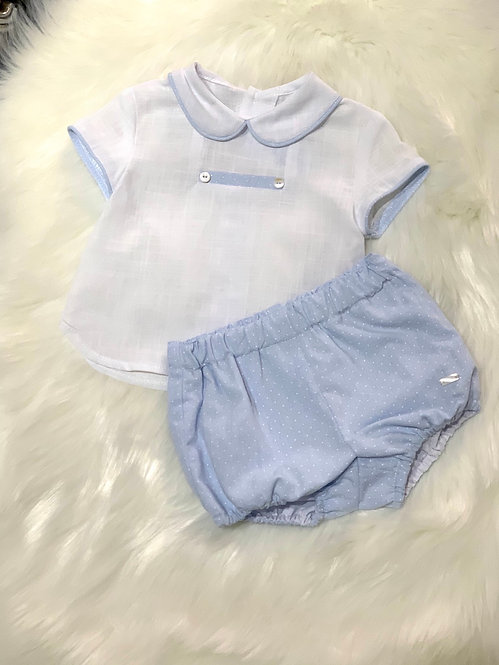 ANGELO TWO PIECE SHORTS SET