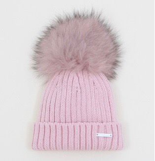 PANGASA FAUX FUR RIBBED HAT