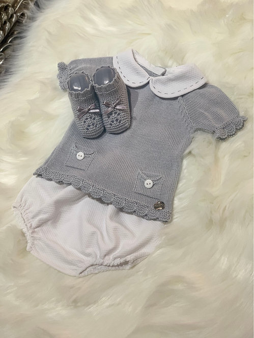GABRIEL GREY THREE PIECE SET