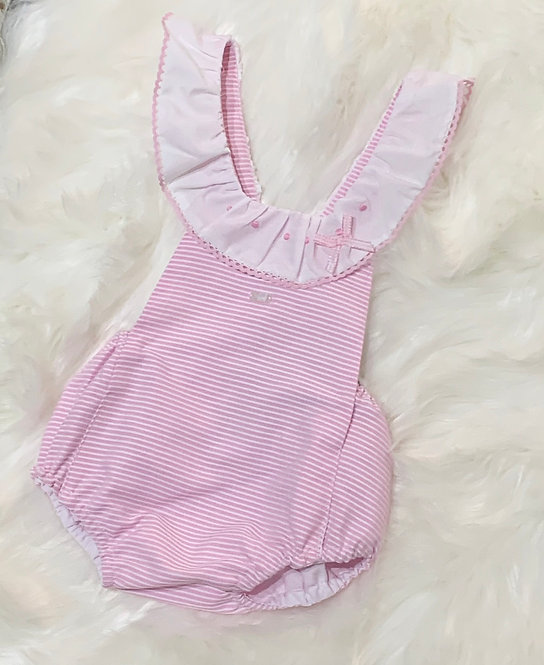 TULIPAN PINK FRILLY ROMPER
