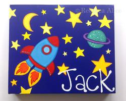 'Jack' Space Canvas