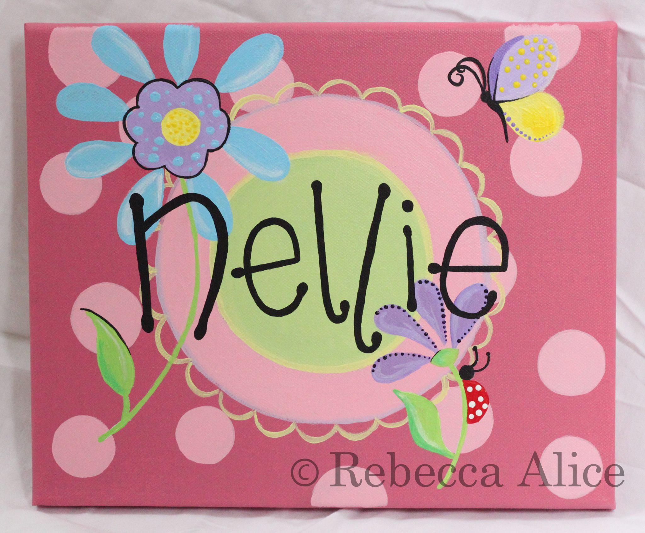 'Nellie' Spots Canvas