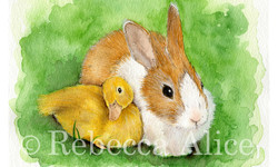 Duck and Bunny