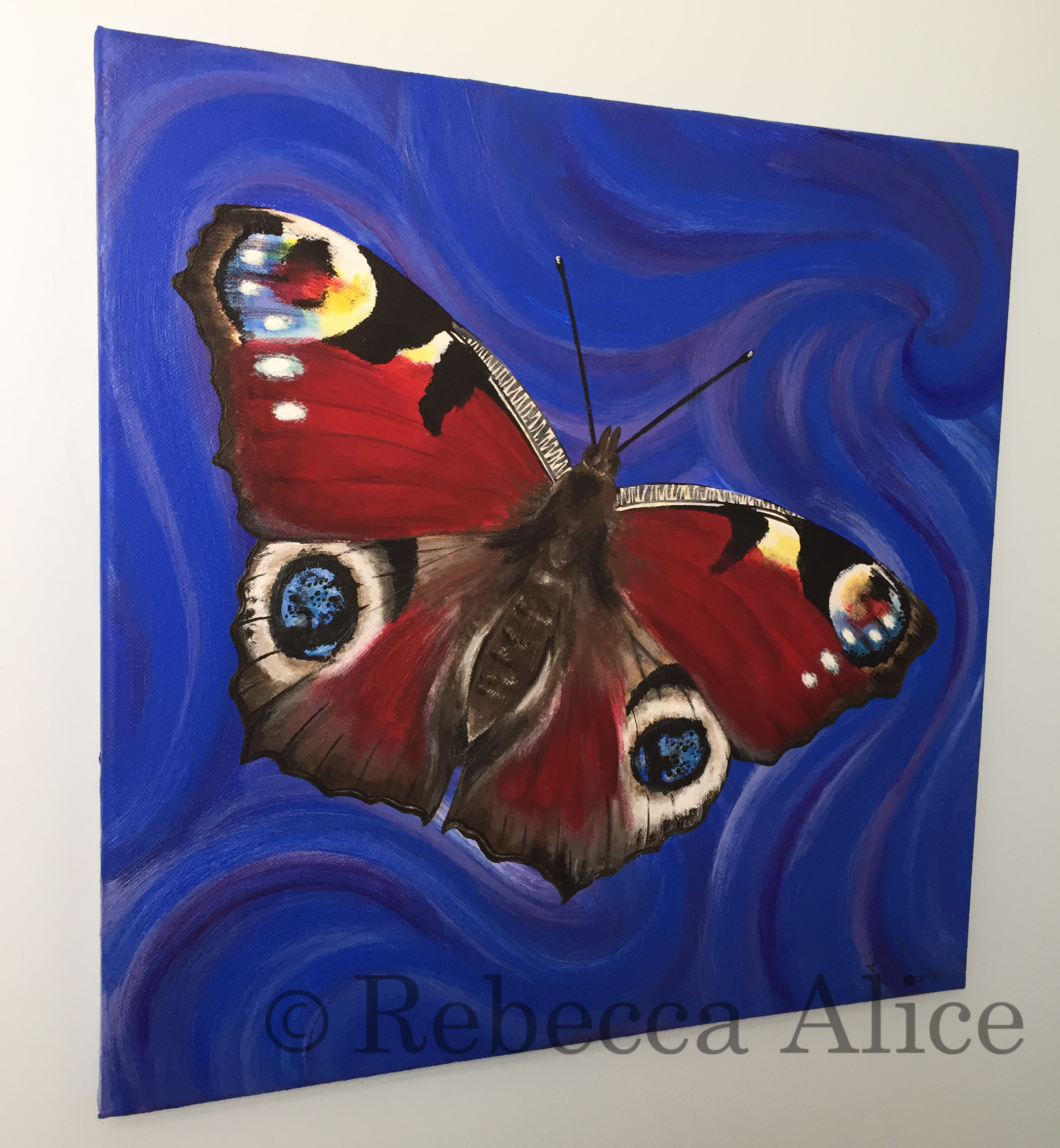 Peacock Butterfly Canvas