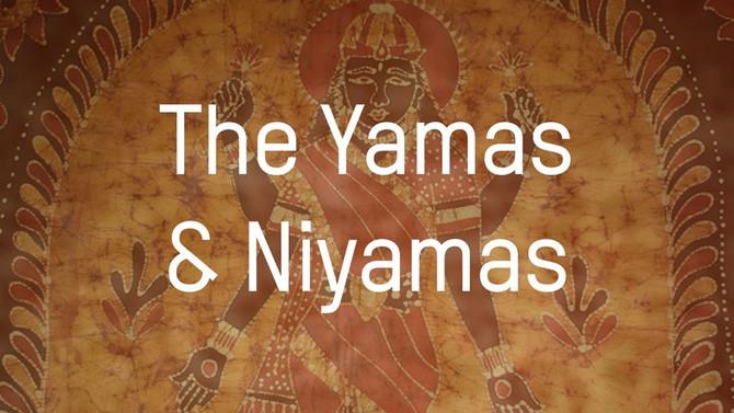 Yamas e Nyamas os conceitos éticos da pratica da Yoga .