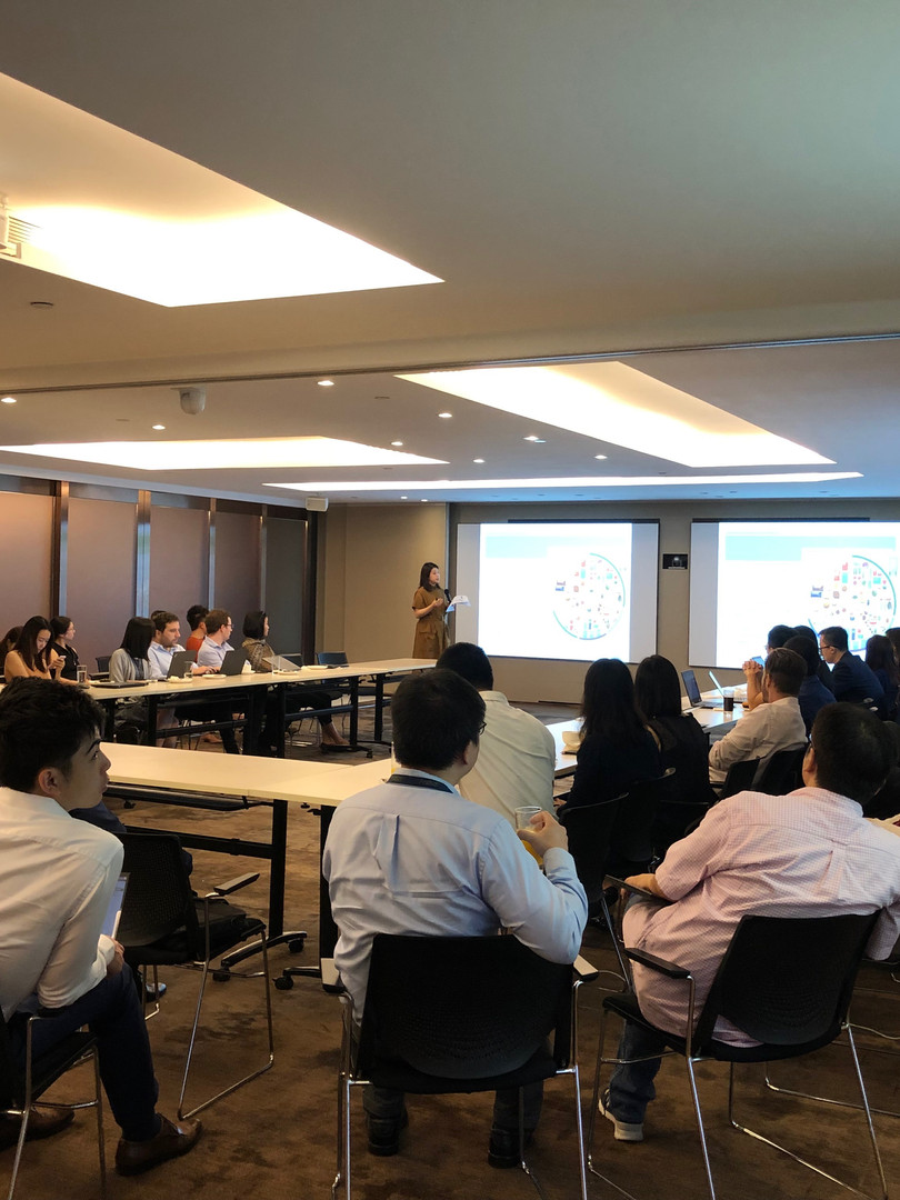 Nutrition Seminar at PwC HK