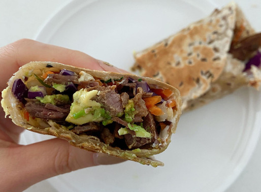 Easy meals: Wraps - no cooking involved