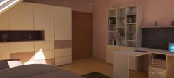 vizualizácia detská izba