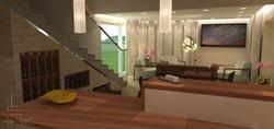 vizualizácia klubový dom