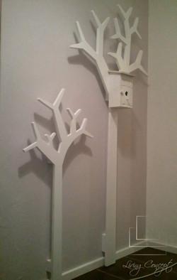 Vešiaky v tvare stromu