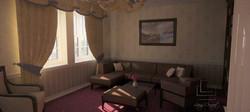 vizualizácia obývačky