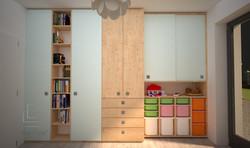 Vizualizácia dievčenskej izby