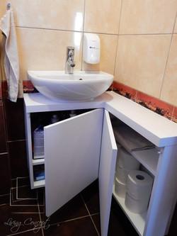 Skrinka pod umývadlo