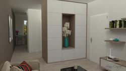 Návrh a vizualizácia obývačky