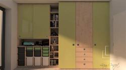 Vizualizácia chlapčenskej izby