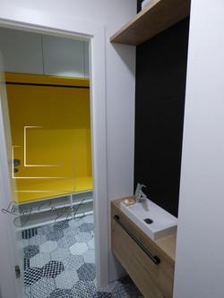 WC a zádverie