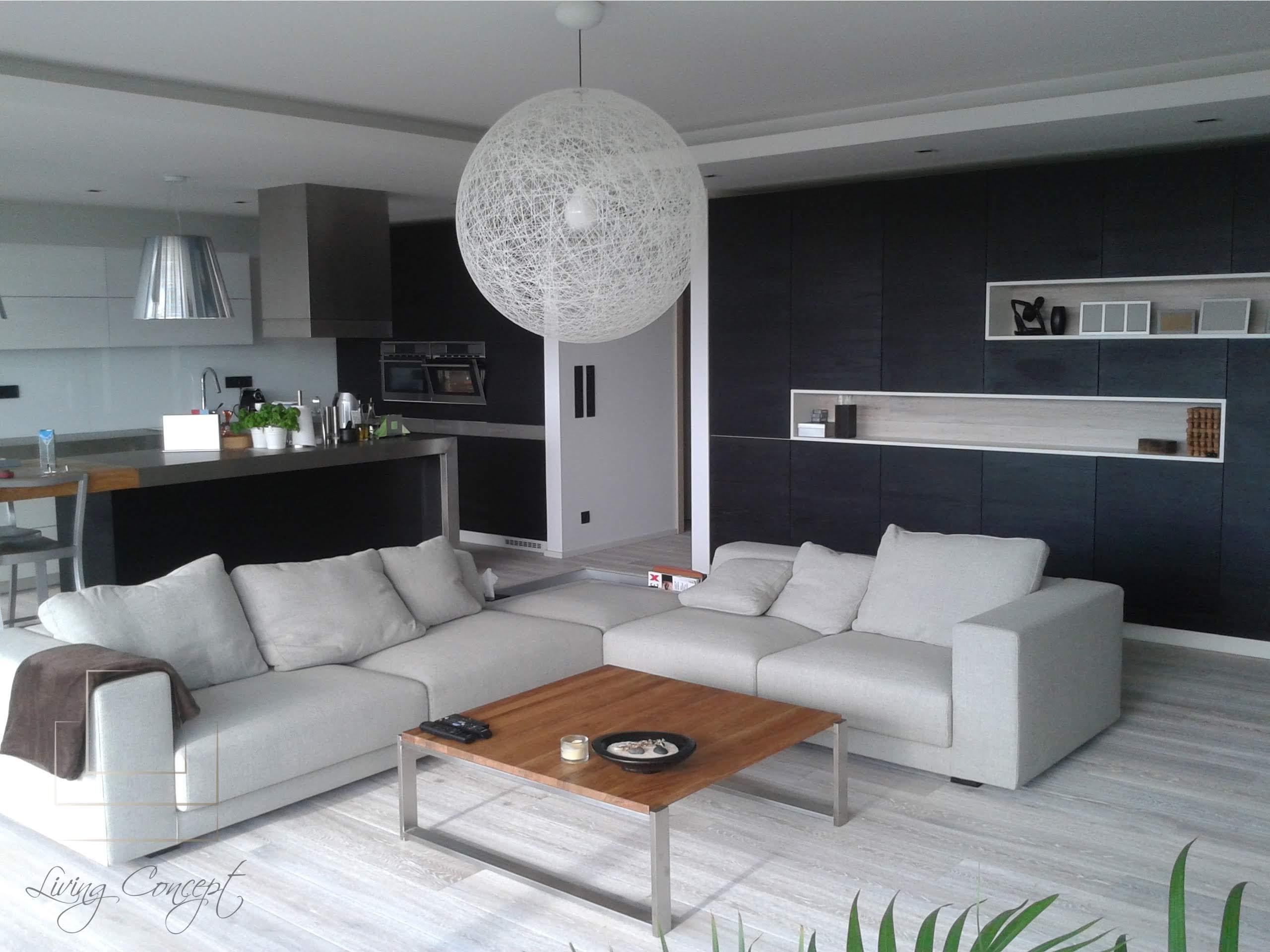 Kuchyňa a obývačka na mieru