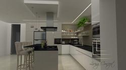 Návrh a vizualizácia kuchyne