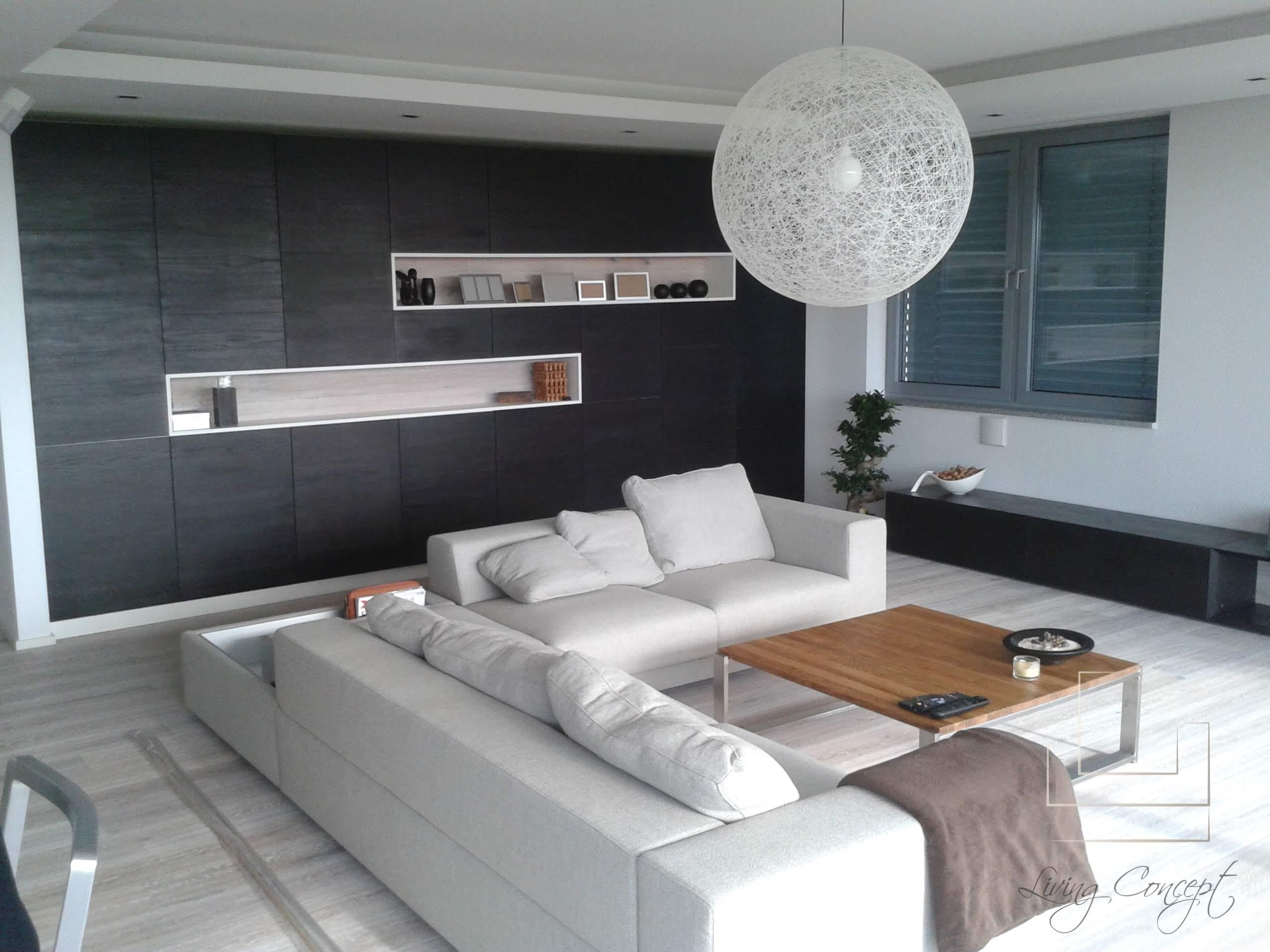 Obývacia stena na mieru