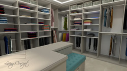 Návrh a vizualizácia šatníka