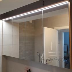Zrkadlová skrinka do kúpeľne