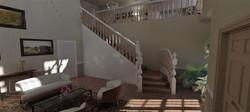 vizualizácia schodište