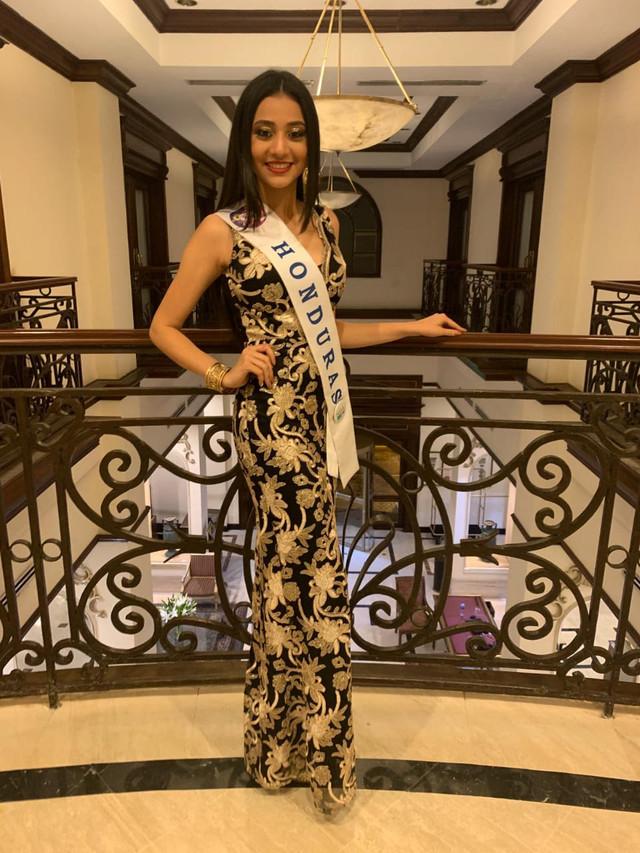 Portar el nombre de Honduras en Miss Teen 2019 fue un privilegio que dedico a mi querida Sabanagrand