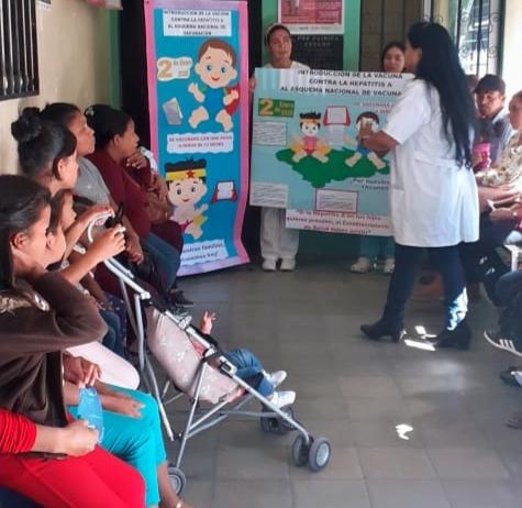 A vacunar a niños (as) de un año para evitar el contagio de la Hepatitis A