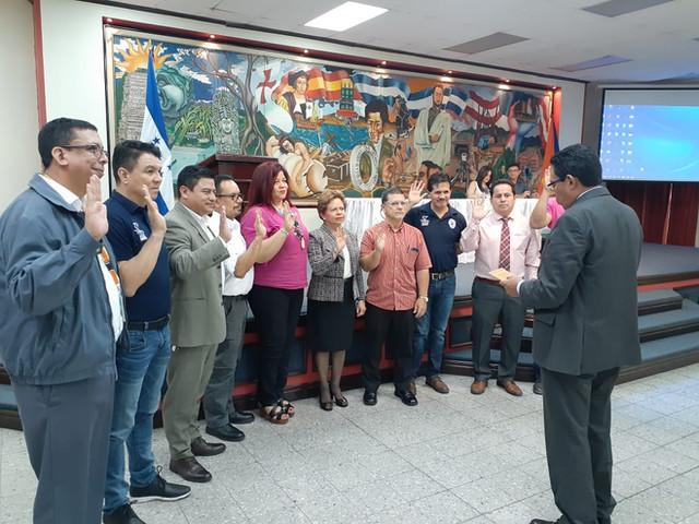LOBOS de la UPNFM elije junta directiva para el año 2020