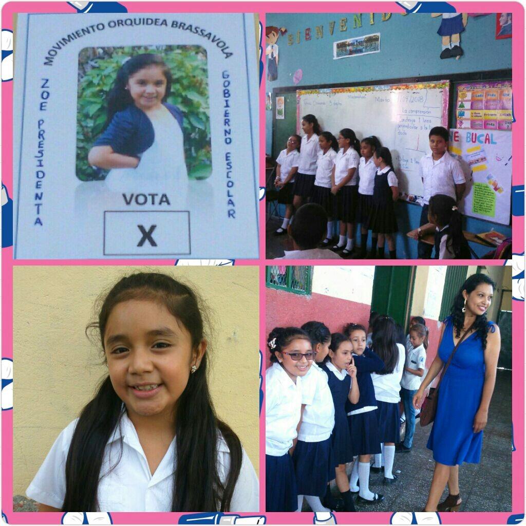 Zoe Aguilera presidenta electa 2018