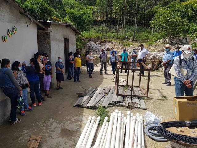 Alcaldía Municipal de Ojojona y Visión Mundial inaugurarán muy pronto proyecto de suministro de agua