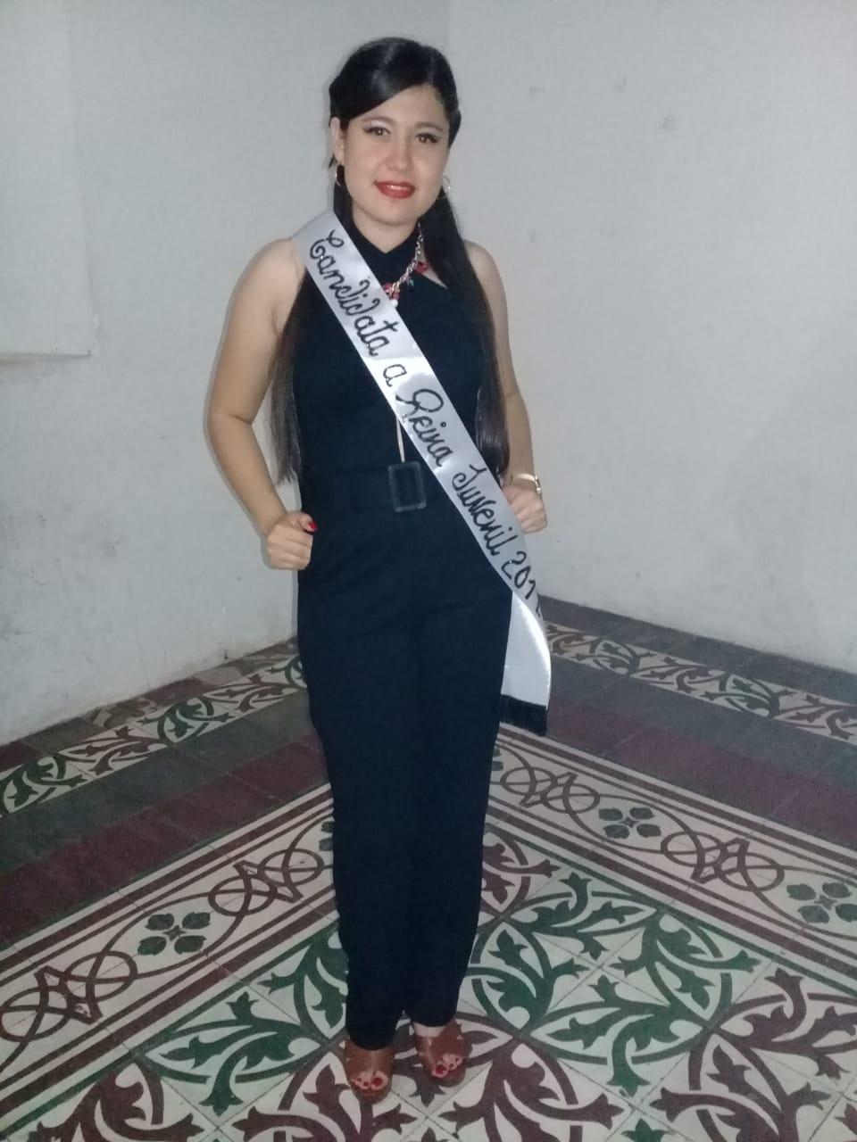 Jessy Nicolle Amador Montoya: Reina Juvenil 2019