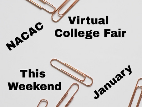 New Year...New College Fairs