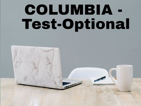 Columbia Moves To Test-Optional