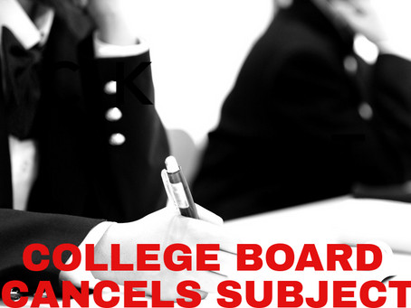 CollegeBoard Changes...What Is Next?