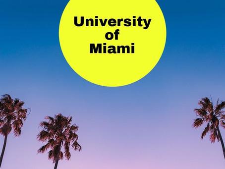 The University of Miami * 411 *