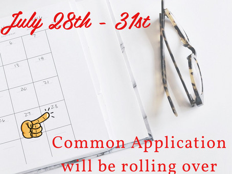 Rolling Over - Common App
