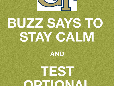 GA TECH DOES NOT REQUIRE TESTS