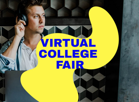 Virtual College Fairs - It is a thing!