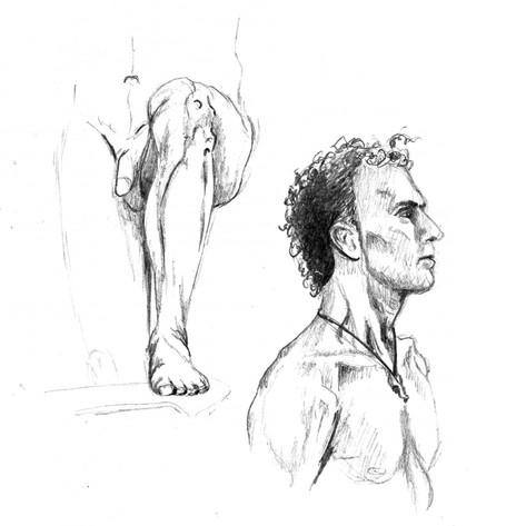 Akt_Mann_Lucy_Kägi_Illustration
